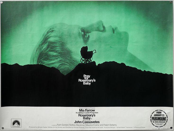 Rosemary's Baby, 1968, Roman Polanski