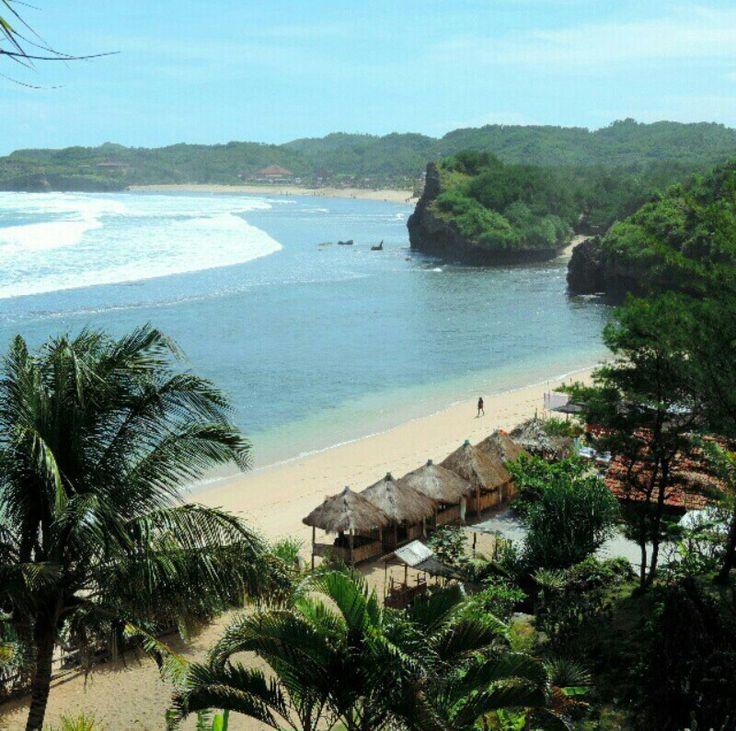 Pantai Sadranan, Gunungkidul, Jogjakarta