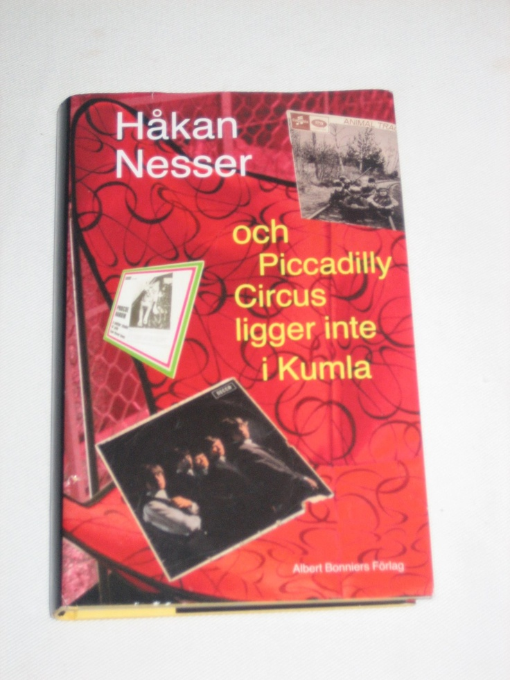 Everything written by swedish author Håkan Nesser.