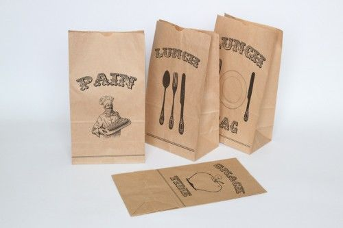 Lunch Bag Printables by funkytime
