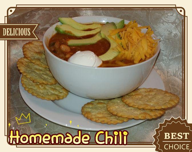 One Pot Homemade Chili