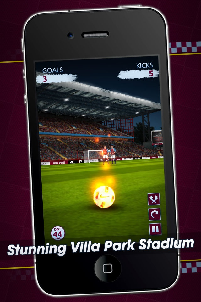 Flick Kick Aston Villa