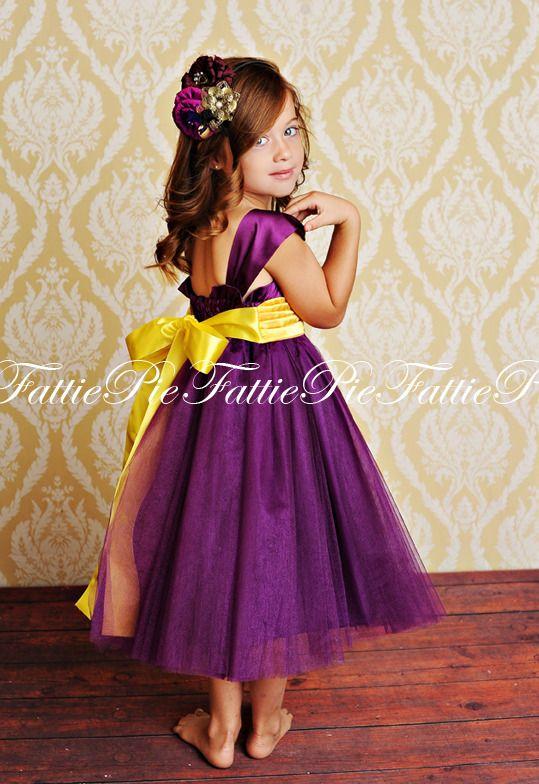 167 best for baby girl images on pinterest little girls flower girl dress by fattie pie not the yellow sash mightylinksfo