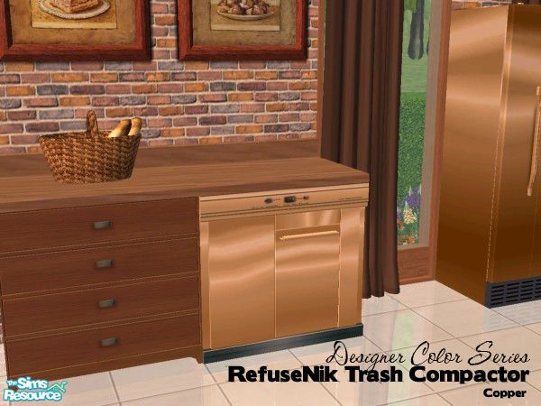 Copper Trash Compactor   Google Search