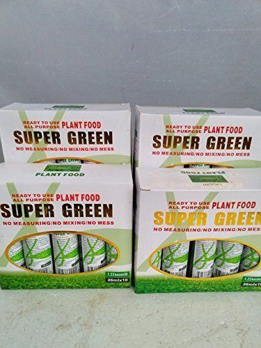 40-Bottles-of-Super-Green-Green-Lucky-Bamboo-Fertilizer-Plant-Food-New