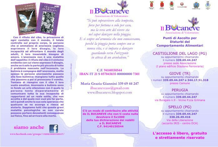 Brochure ass.ne Il Bucaneve