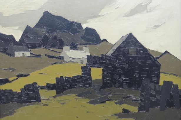 The whitewashed cottages, dry-stone walls and outbuildings by Sir Kyffin Williams expected to