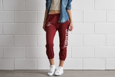 Tailgate Oklahoma Sweatpant by  American Eagle Outfitters | The Sooners have scored more points than any other college football team. Ever. That's over 33,000. Shop the Tailgate Oklahoma Sweatpant and check out more at AE.com.