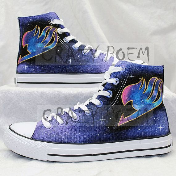 Hey, I found this really awesome Etsy listing at https://www.etsy.com/listing/214117102/fairy-tail-anime-shoes-with-galaxy