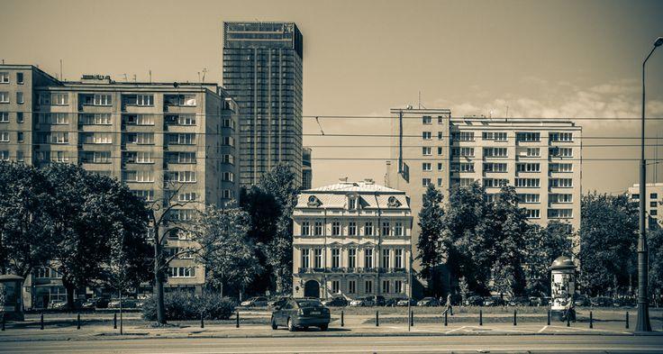 Zielna Street, Warsaw, Poland