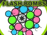Play this simple Puzzle game and Click on a Bomb to create a chain of explosions of the same color type of that bomb. To score bonus points, try and get as many chain explosions as you can, before your time runs out! Good Luck! http://www.itsgamestime.com/puzzle/flash-bombs.html