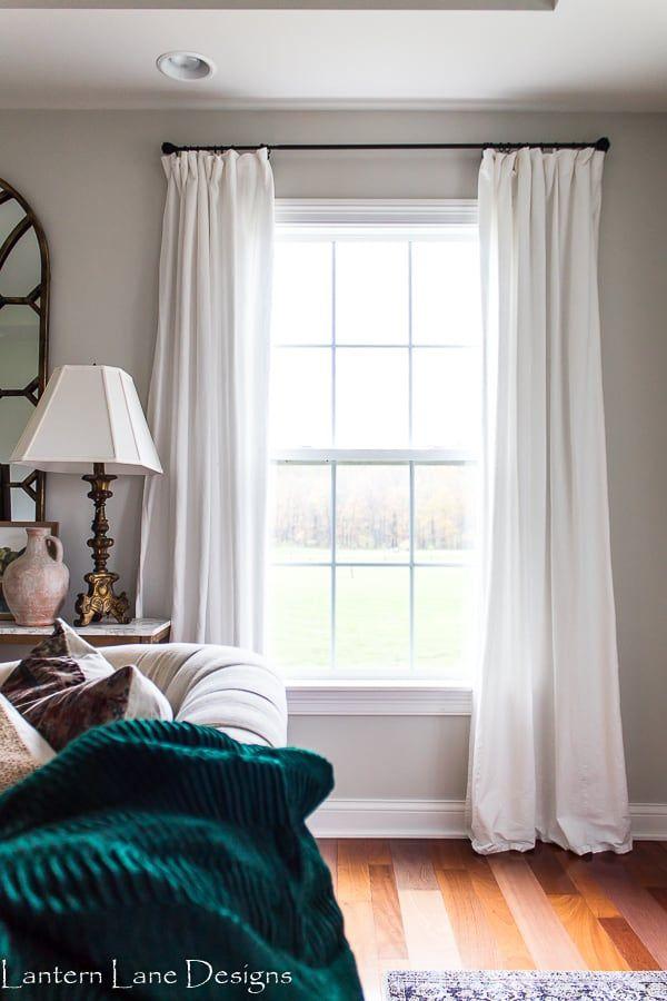 Budget Friendly Window Treatments Farmhouse Style Curtains Farmhouse Curtains Farmhouse Style Lighting