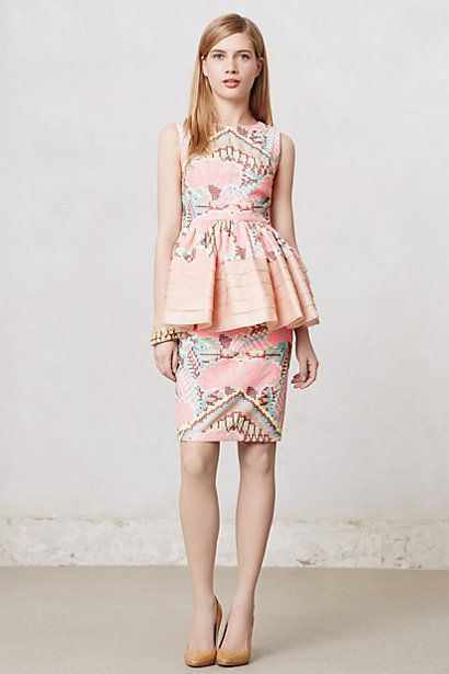 Love this top by Manish Arora. If I took my Anthropologie pins seriously, I would be broke very very soon.