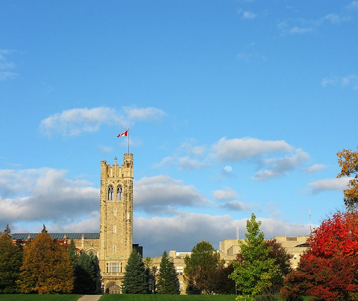 Fall on campus at my alma mater, Western University Canada (formerly known as the University of Western Ontario) in London, Ontario, Canada