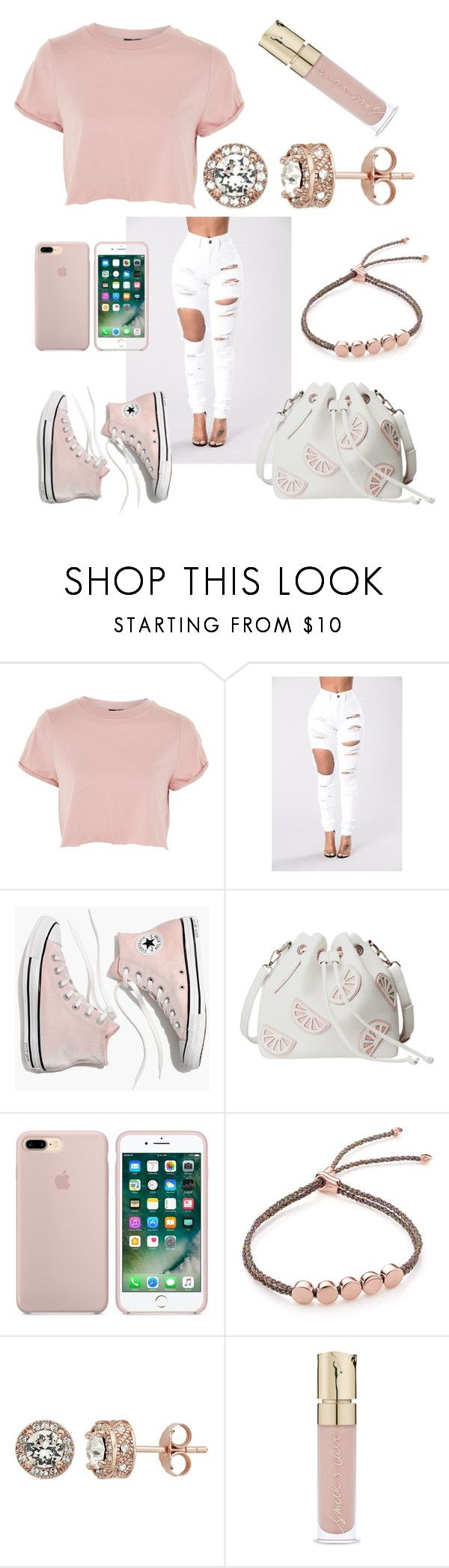 """""""Untitled #17"""" by lindseyhunter-1 ❤ liked on Polyvore featuring Topshop, Madewell, Monica Vinader and Smith & Cult"""