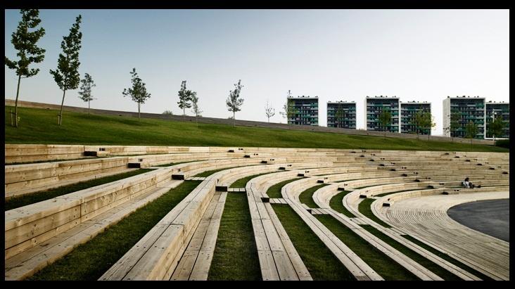 Parc de la Marina, Viladecans. Batlle i Roig