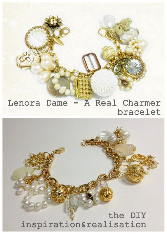 inspiration and realisation: DIY fashion blog: DIY a real charmer bracelet