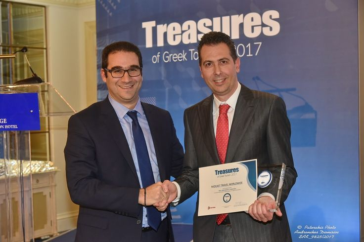Mideast Travel Named 'Treasure of Greek Tourism' for 2017