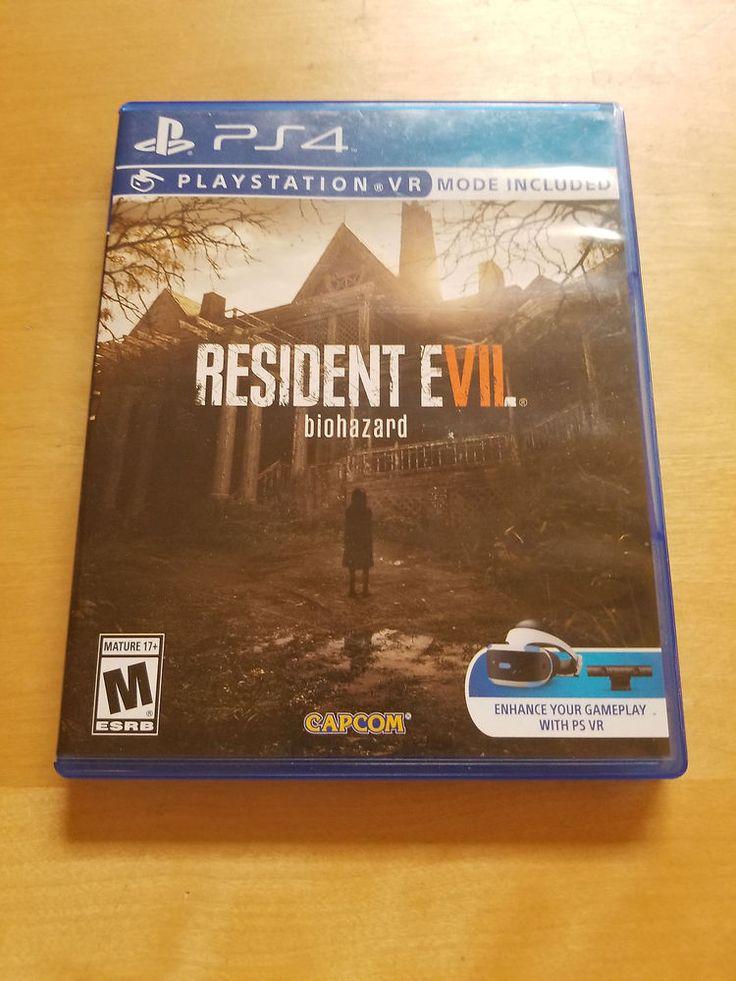 Resident Evil 7 Biohazard PS4 Sony PlayStation 4 PSVR SCARY GAME