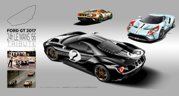 2017 Ford GT Tribute Liveries