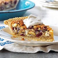 Cranberry Chocolate Nut Pie - Better Homes and GardensDesserts, White Chocolates, Chocolates Pies, Pies Recipe, Sweets, Food, Pie Recipes, Nut Pies, Cranberries Chocolates Nut