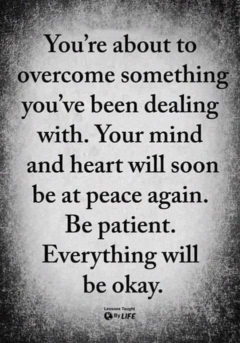 You Will Overcome Patience Trust Quotes Inspirational Quotes