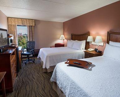 Hampton Inn Gainesville Hotel, GA - 2 Queen Beds Non-Smoking