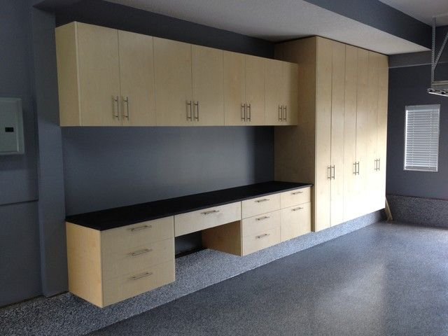 Unique Flow Wall Garage Cabinets