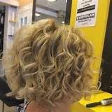 Similar Design Curly Stacked Bob