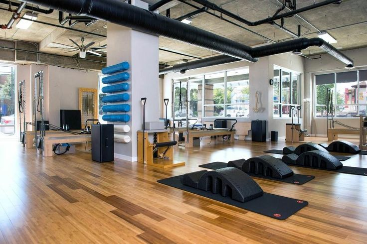 Home Pilates Studio Layout