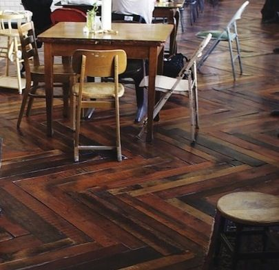 Innovative Iceland Launches Reused Pallet Wood Floors   SalvoNews.com
