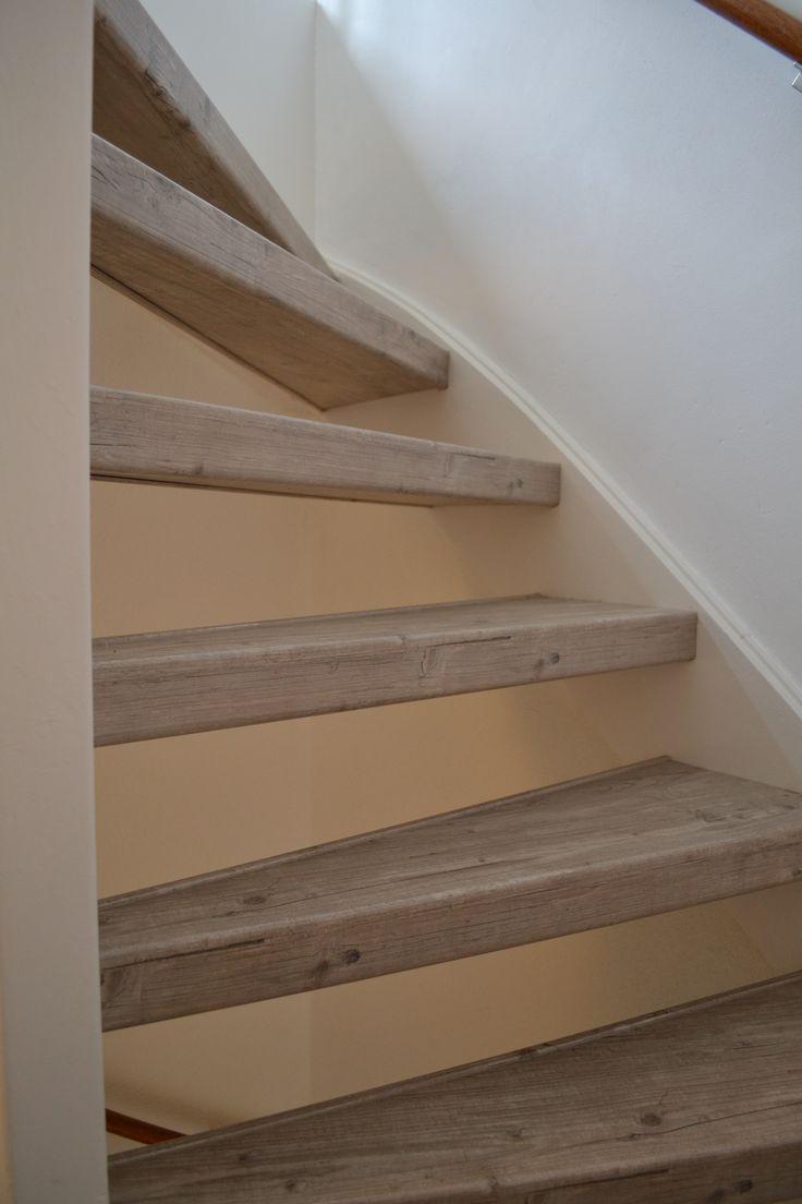 25 beste idee n over open trap op pinterest for Open trap bekleden met hout