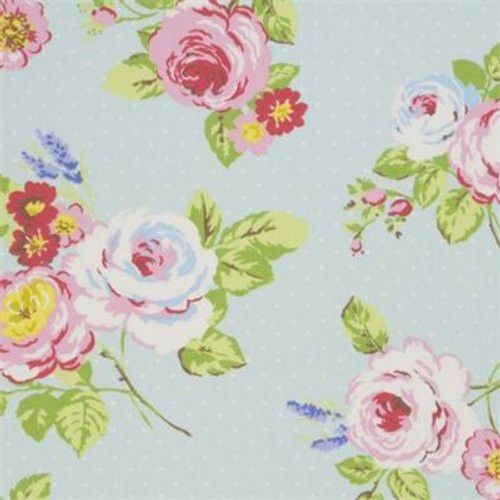 Clarke & Clarke ENGLISH ROSE Fabric