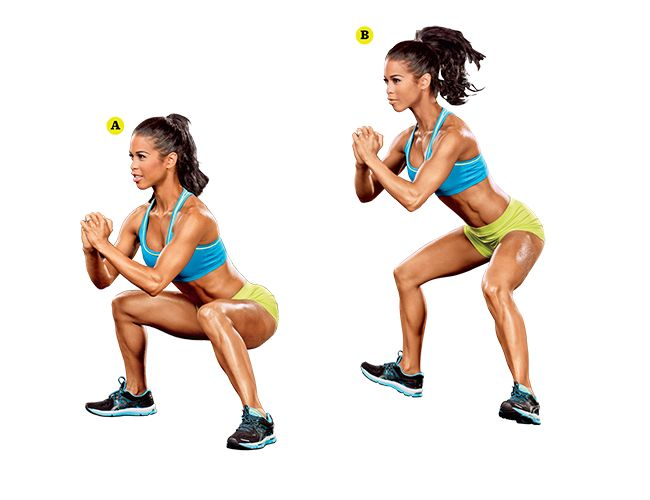 The best squats for your butt, demonstrated by India Paulino