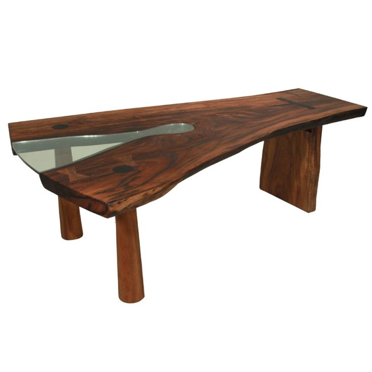 Check out the deal on solid slab tamboril forquilha for Dining room table 40 x 120