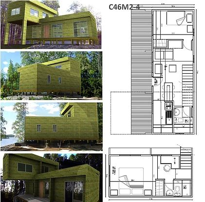 Las 25 mejores ideas sobre construccion de casas - Construccion de casas modulares ...