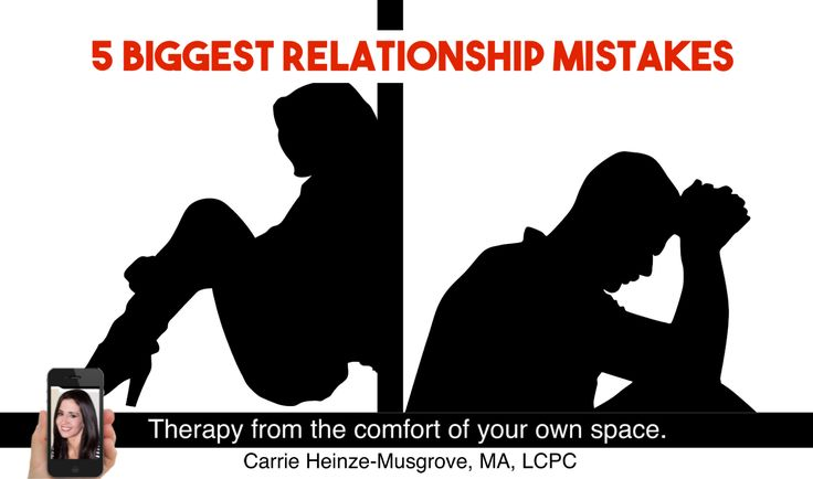 http://www.carrienet.com/5-relationship-mistakes/  5 Relationship Mistakes. If you had to repeat the last 6 months of your relationship, would you? Are you trying to make your new relationship work? Are you going through a bad phase? How long does it take you to recover after an argument? Are you looking to avoid repeating your past mistakes?  Healthy relationships require a certain amount of effort and understanding. Relationships can be tricky and they all come with challen