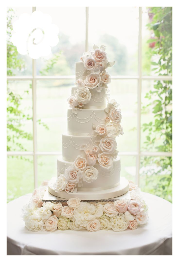 best wedding cake designs images on pinterest