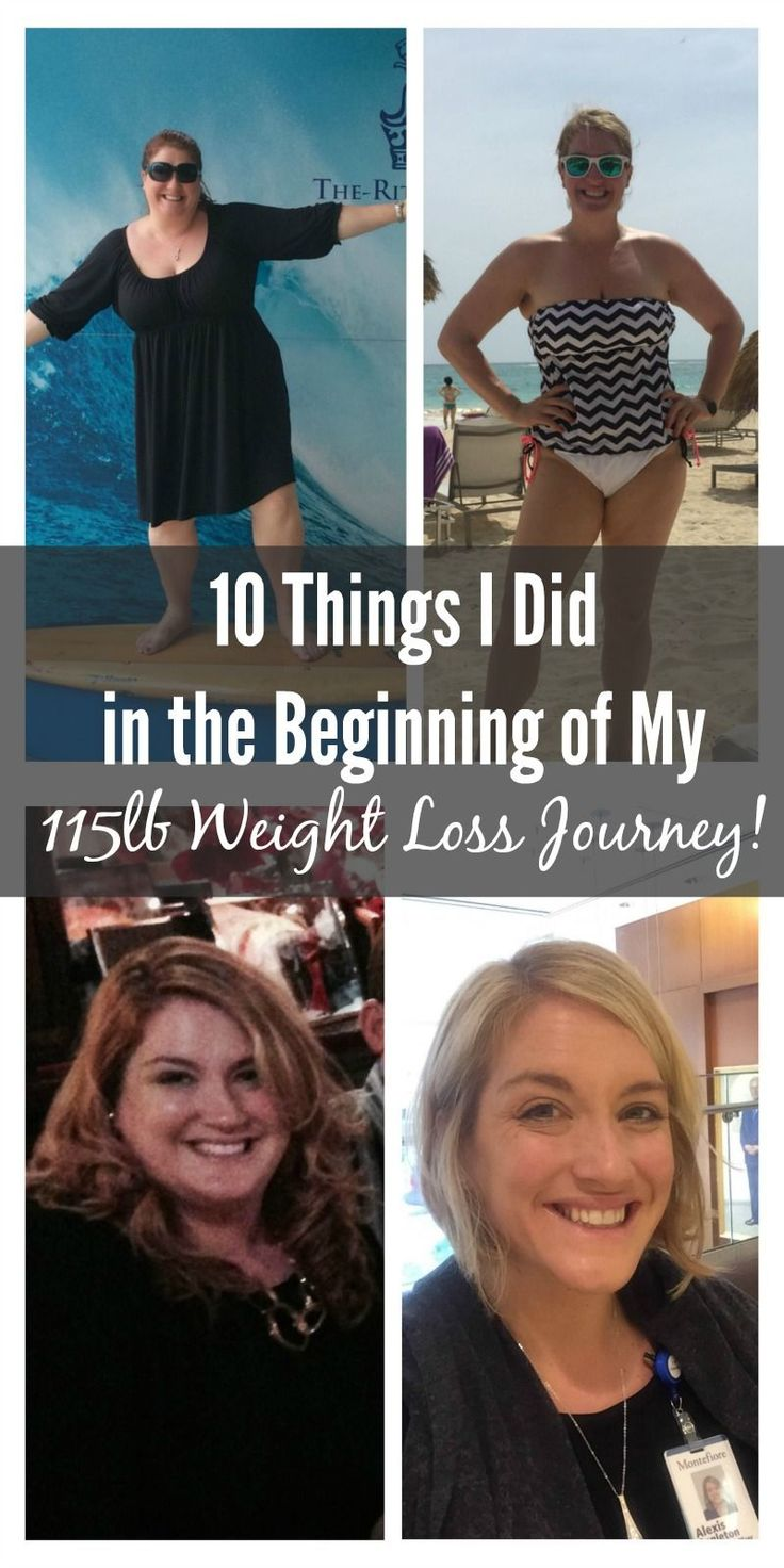 10 Things I Did in the Beginning of My 115lb Weight Loss Journey.. Whether you need to lose 10lbs or 100lbs this post will help get you started!