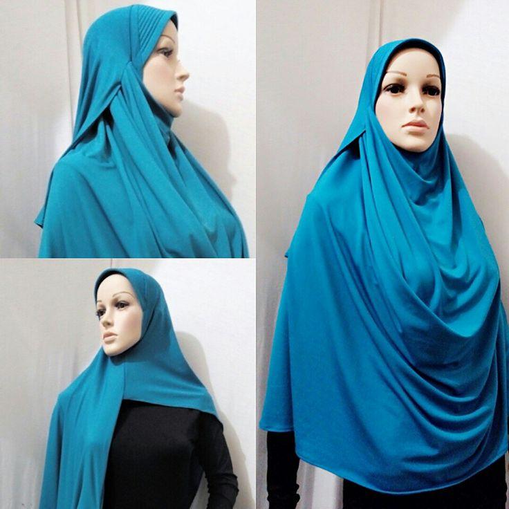 Instant shawl 2muka jersey idr .90.000
