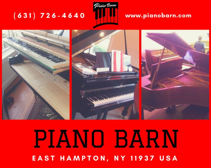 Piano Barn is your one-stop piano shop, offering everything from piano sales, and moving to piano tuning, repairs and even piano rentals. Call us today for a FREE over-the-phone estimate for any work your piano might need. #Pianos  #PainosWaterMill  #PianosSagharbor  #PianosMontauk  #PianosAmagansett  #PianosRiverhead  #PianosshelterIsland  #BuyAndSellPiano  #RentOutPianos  #PianoTuning  #PianoSales  #PianoRentals  #PianoMoving  #PianoRepairs  #PianoNeed