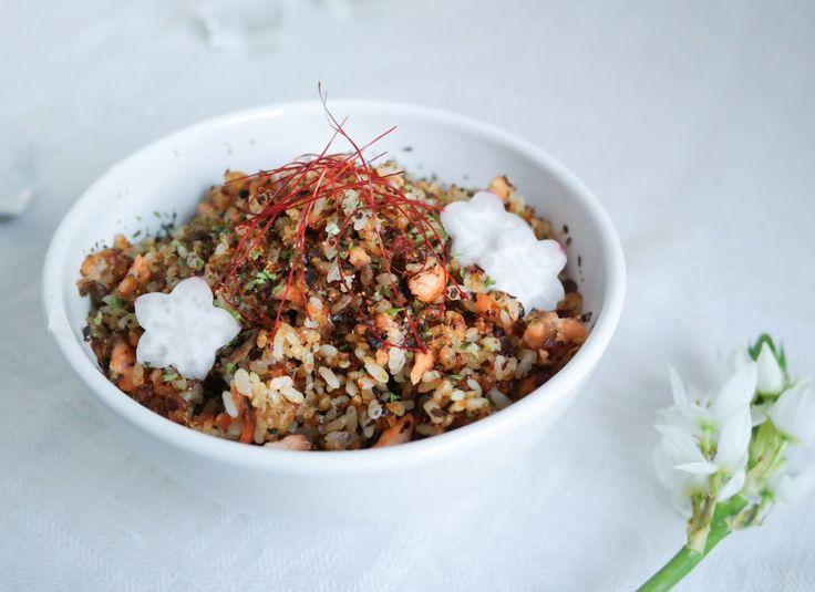 Chahan eli paistettu riisi japanilaisittain x 2