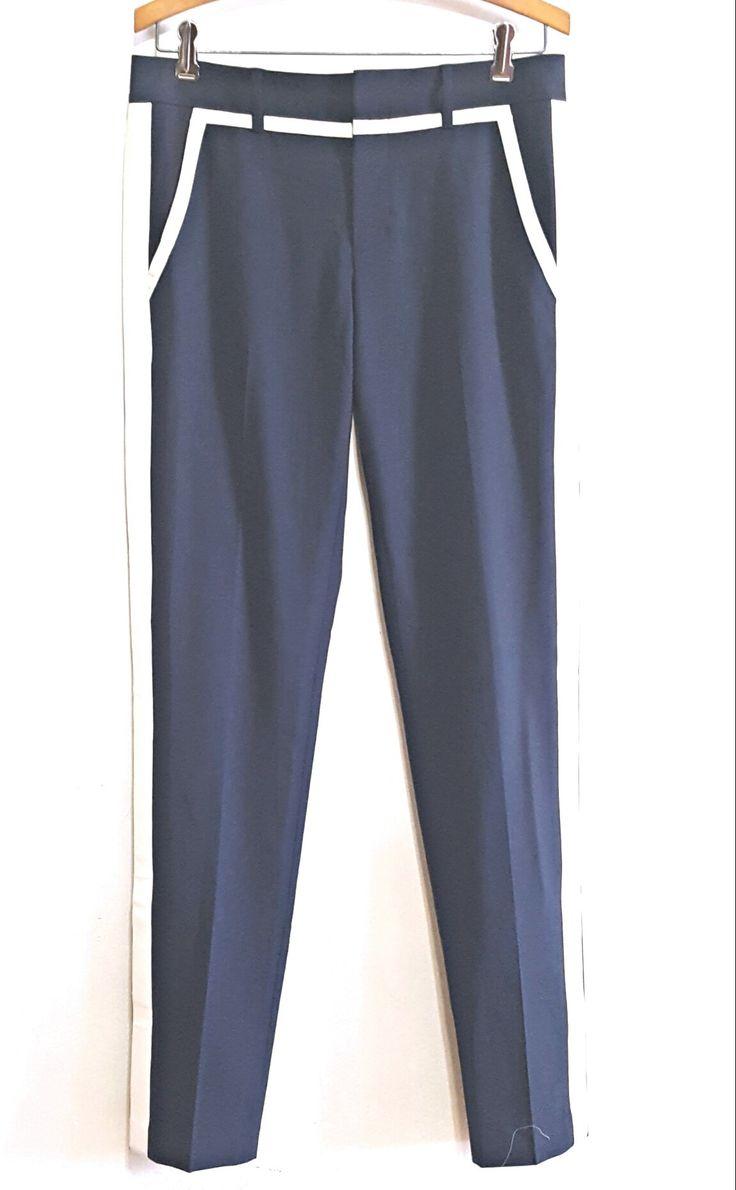 Vince Navy Tuxedo Stripe Pant sz.6