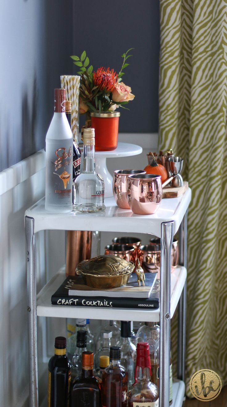 best images about bar trays on pinterest  mark and graham  - fall home tour