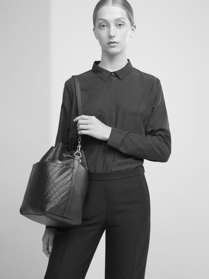 CHRISTINA FISCHER 2016 CAMPAIGN - CF QUILTED BUCKET BAG