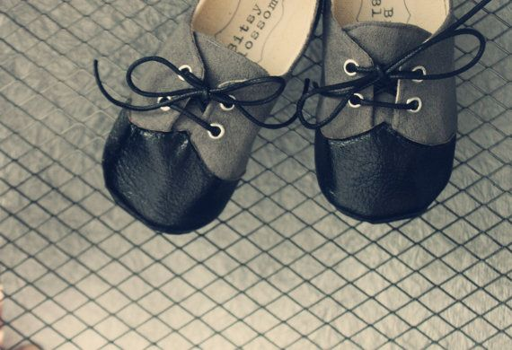 Lil' Misters Soft Soled Shoes by BitsyBlossom