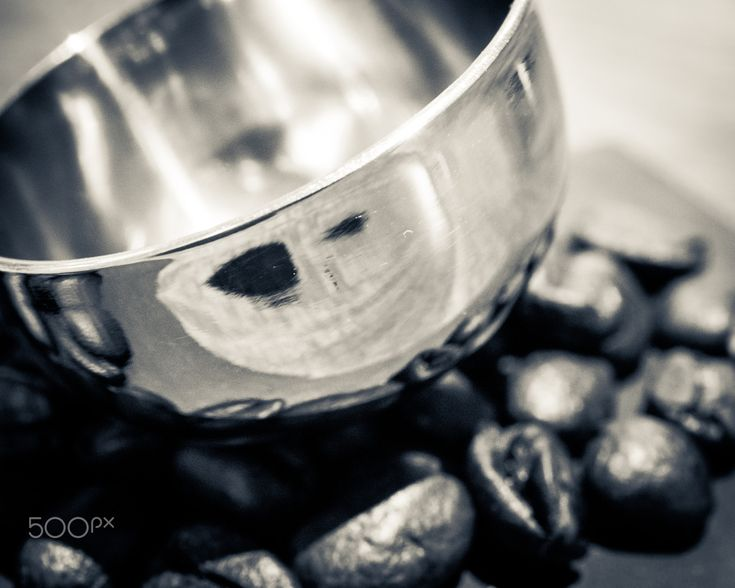 Measuring Spoon - Measuring spoon and coffee beans