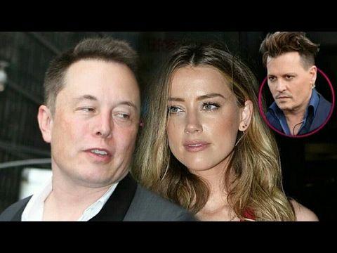 Tesla CEO Elon Musk Dating Johnny Depp's Ex Amber Heard
