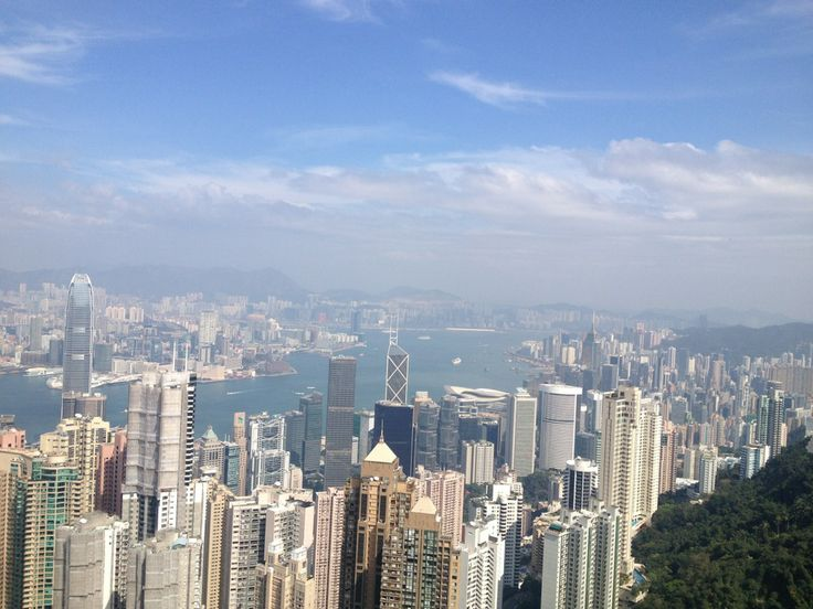 Good view of Hong Kong. I hope I see this one more time before I die.
