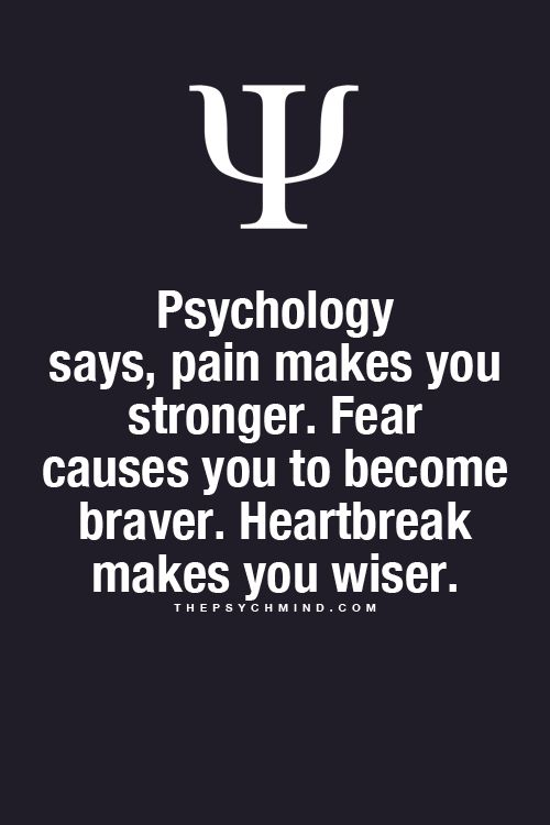 Everything Psychology- This is mostly true, except for people who don't learn from experience.